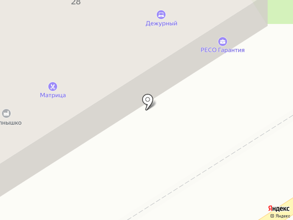 Влада на карте Барнаула