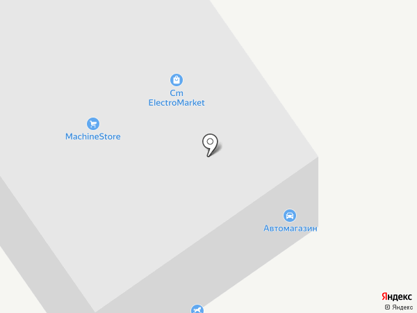 Автомагазин на карте Барнаула