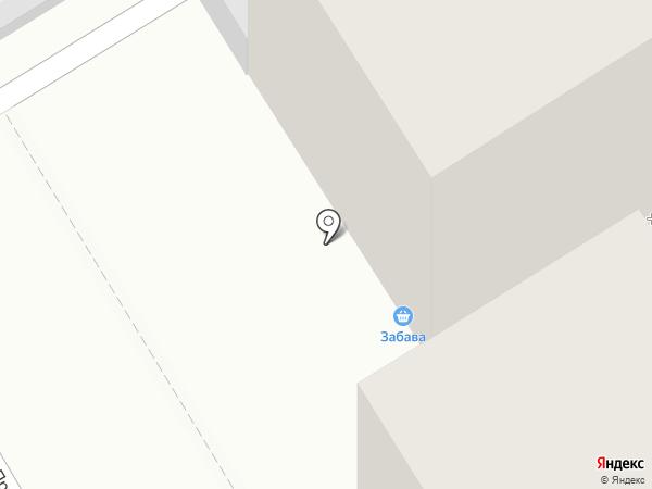 Забава на карте Барнаула