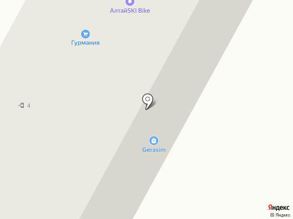 Старая телега+ на карте Барнаула
