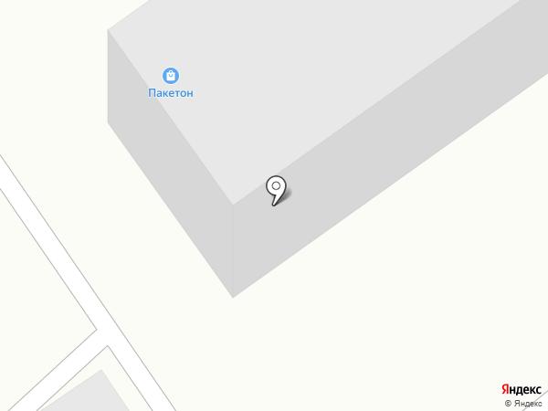 Армада на карте Барнаула