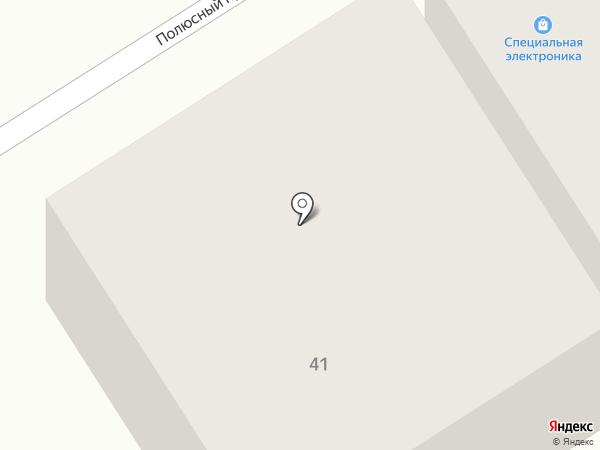 Торгмонтаж 22 на карте Барнаула