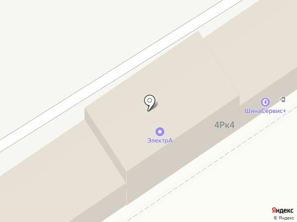 АльфаКомплект на карте Барнаула