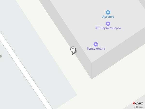 Элеп на карте Барнаула