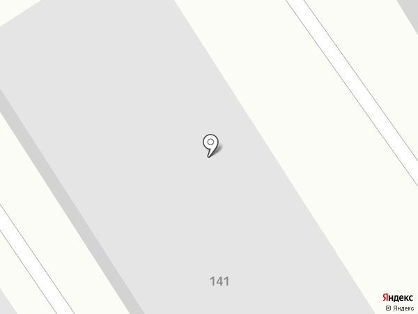Зебра на карте Барнаула