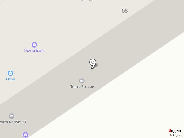 Платежный терминал, Почта России, ФГУП на карте Барнаула