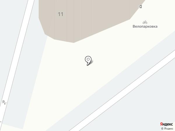 СПРИН на карте Барнаула