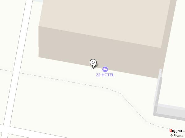 Гостиный двор на карте Барнаула
