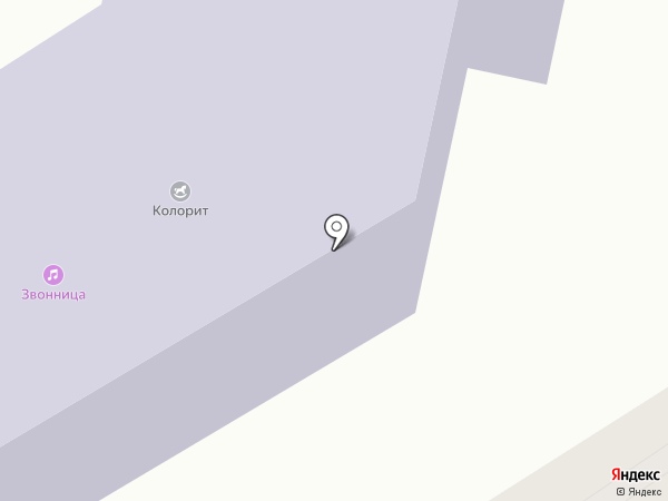 Квинта на карте Барнаула