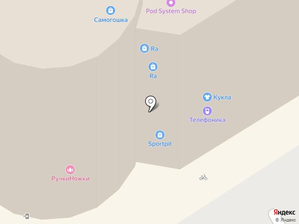 Телефоника на карте Барнаула