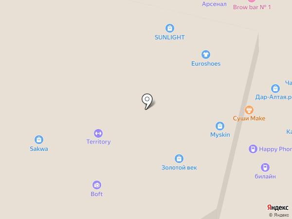 Дом.ru на карте Барнаула