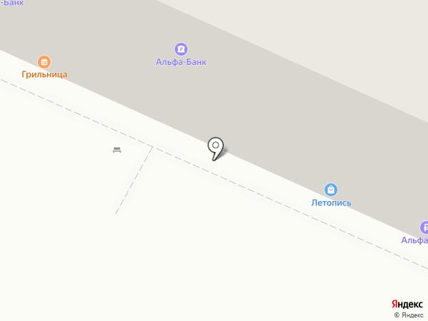 Грильница на карте Барнаула
