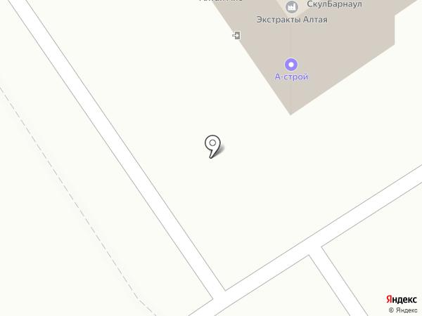 Фаворит-Транс на карте Барнаула