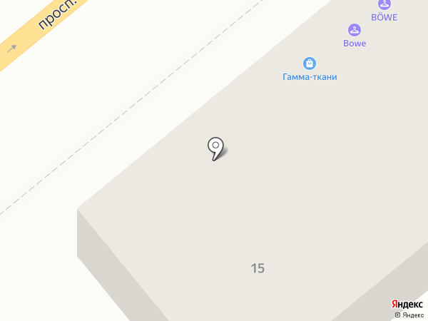 БЁВЕ на карте Барнаула
