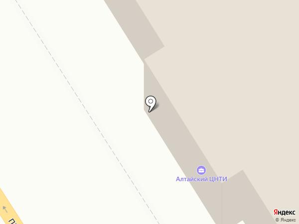 АНАТ на карте Барнаула