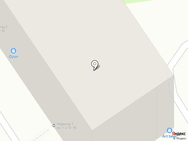 Хмельной барон на карте Барнаула