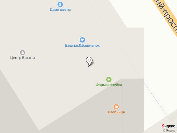Mobile Bay на карте Барнаула