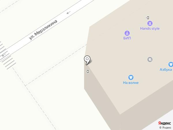 Азбука стиля на карте Барнаула