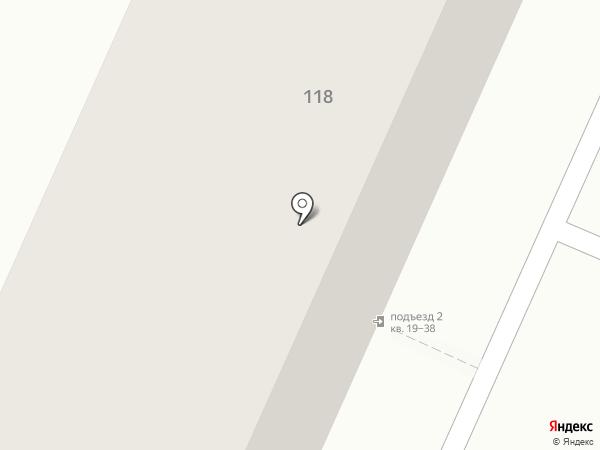 Чорная на карте Барнаула