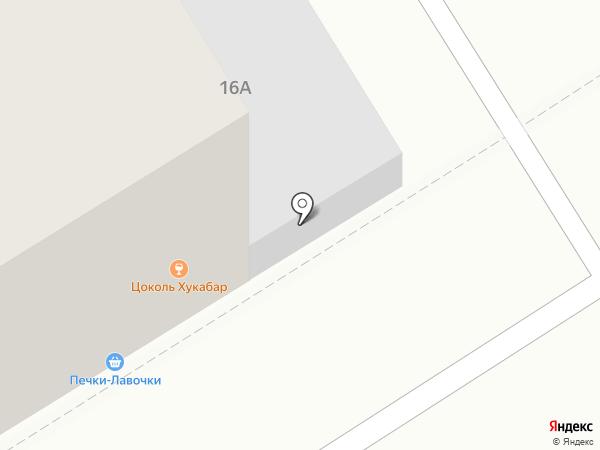 ЦОКОЛЬ на карте Барнаула