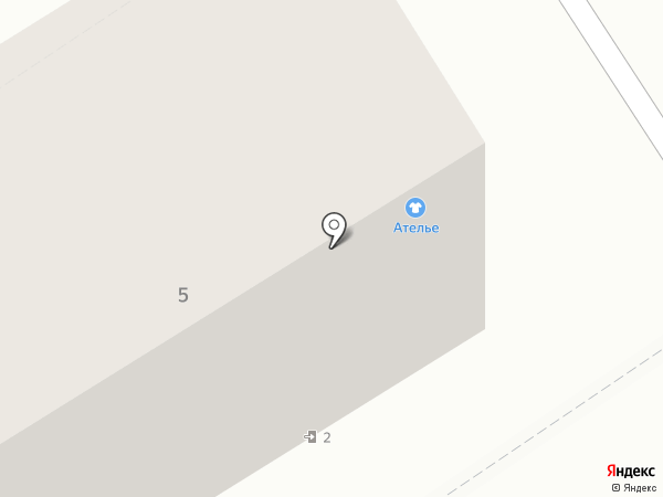 А`Стория на карте Барнаула