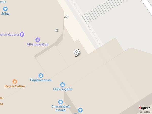 Лофт на карте Барнаула