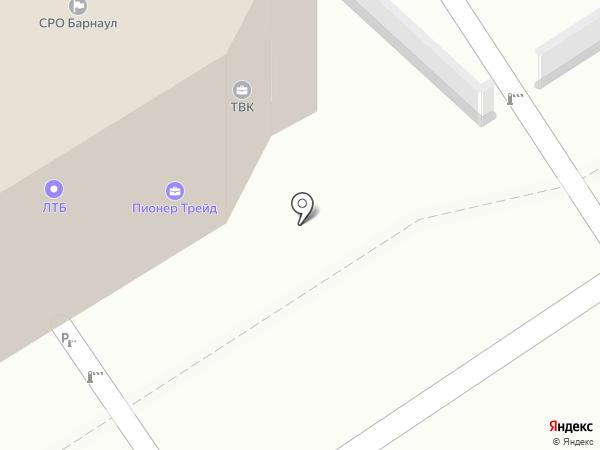 Фотоателье на карте Барнаула