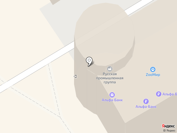 Юристы-населению, АНО на карте Барнаула