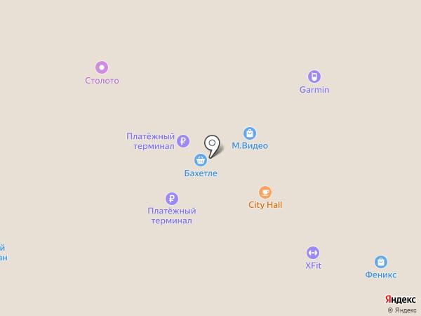 Московский Ювелирный Завод на карте Барнаула