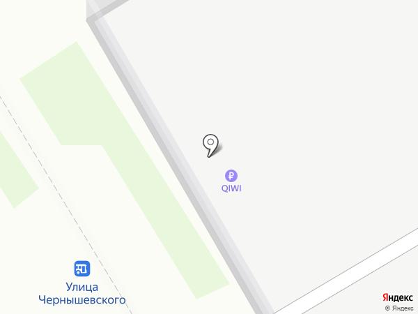 Заправка на карте Барнаула