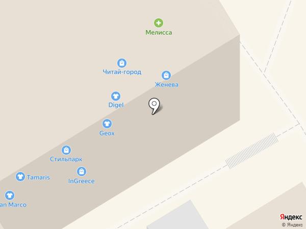Космопарк на карте Барнаула