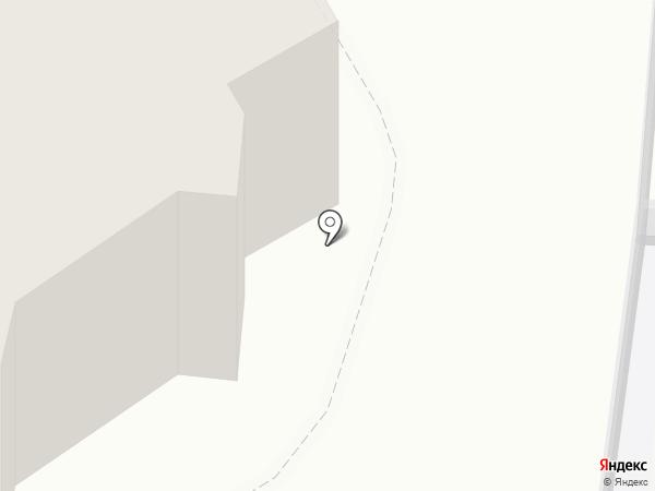 Альбус на карте Барнаула
