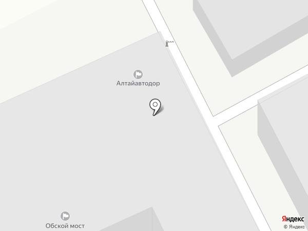 Алтайавтодор, КГКУ на карте Барнаула