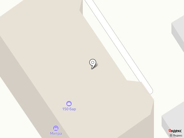 Митра на карте Барнаула