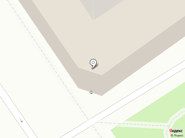 Белый на карте Барнаула