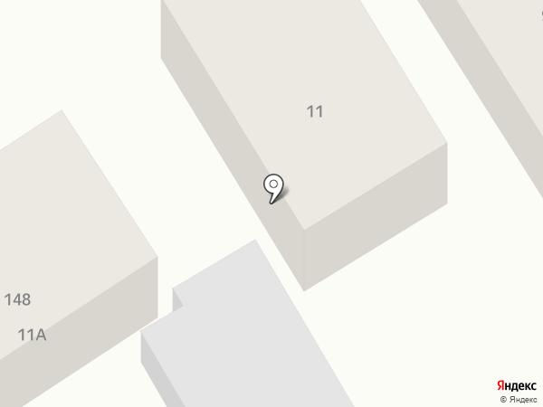 Старый замок на карте Барнаула