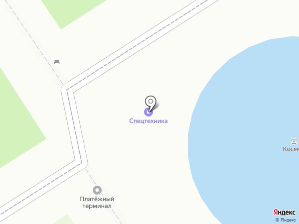 Матрешки на карте Барнаула