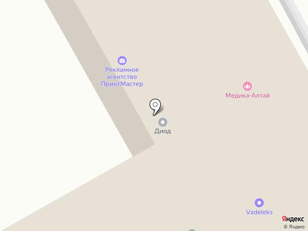 СИБКОМ на карте Барнаула