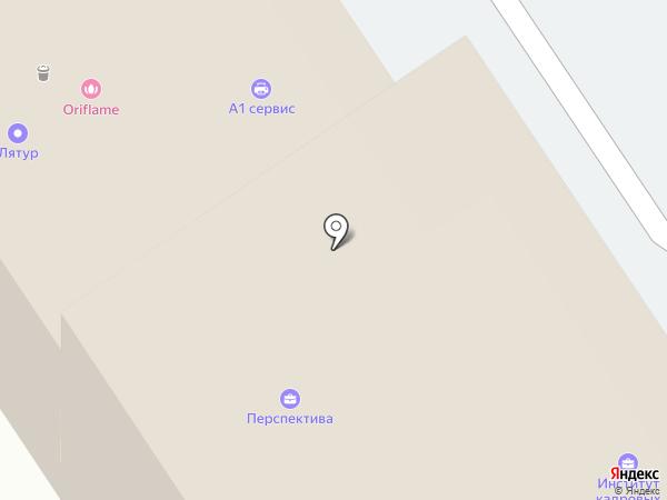 БКР на карте Барнаула