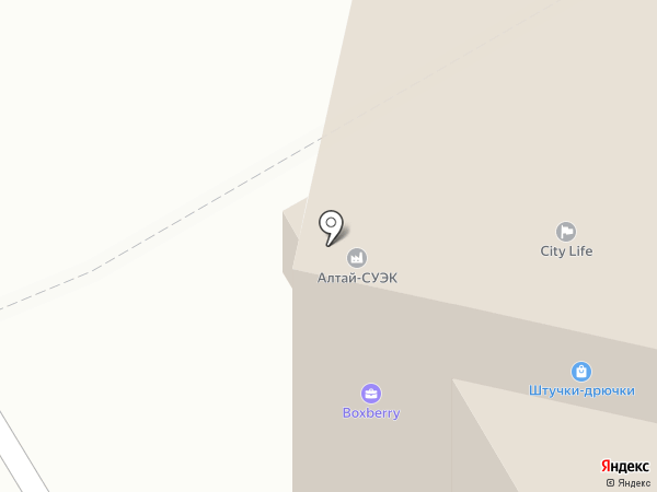 Алтайский центр комплектации на карте Барнаула