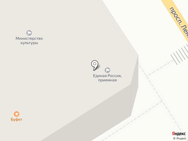Уполномоченный по защите прав предпринимателей в Алтайском крае на карте Барнаула