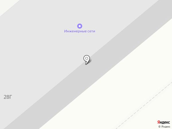 ИНЖЕНЕРНЫЕ СЕТИ на карте Барнаула