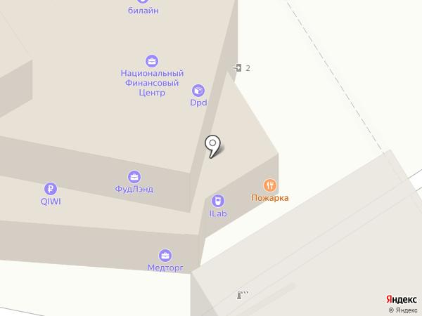 iLab на карте Барнаула