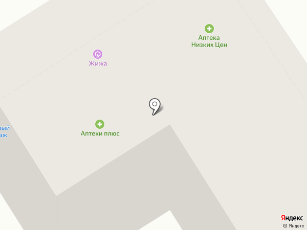 The LOST на карте Барнаула