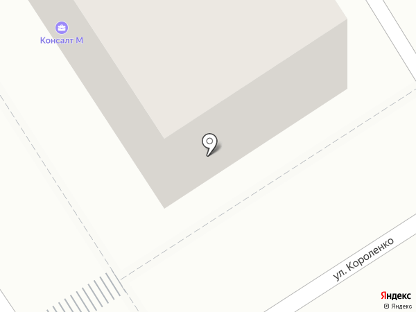 Коснас на карте Барнаула