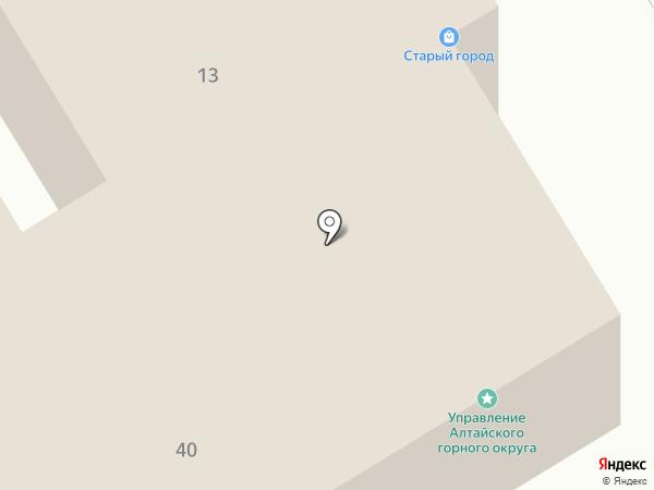 Мир мебели на карте Барнаула