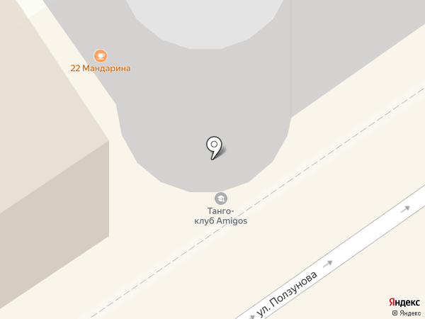 Высота на карте Барнаула