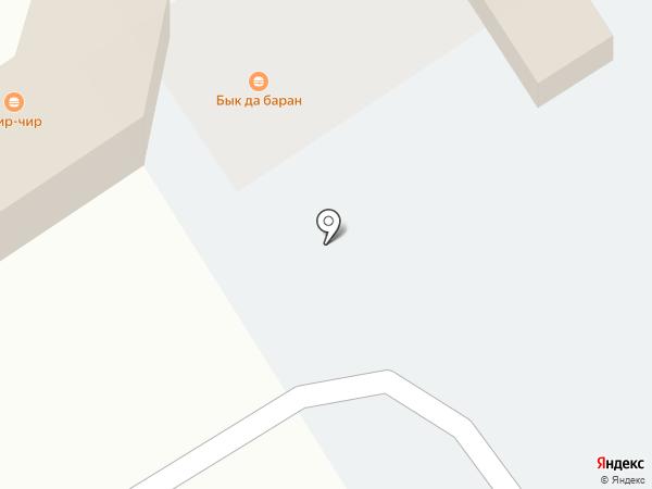 Алден на карте Барнаула