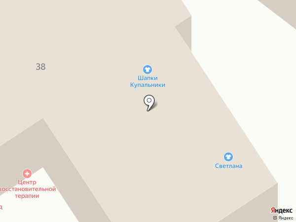 Адвокат Зимина Н.Г. на карте Барнаула