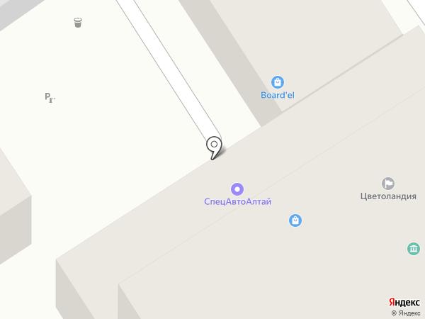 СпецАвтоАлтай на карте Барнаула